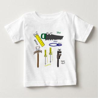 T-shirt Pour Bébé Le charpentier usine l'art lunatique de bande