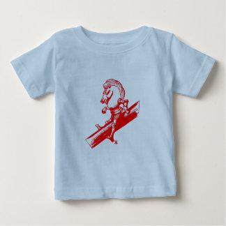 T-shirt Pour Bébé Le chevalier blanc en rouge