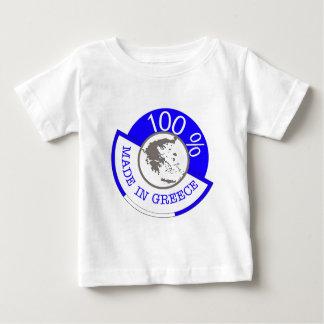 T-SHIRT POUR BÉBÉ LE CREST DE LA GRÈCE 100%