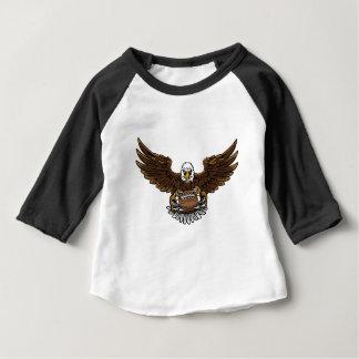 T-shirt Pour Bébé le football d'aigle