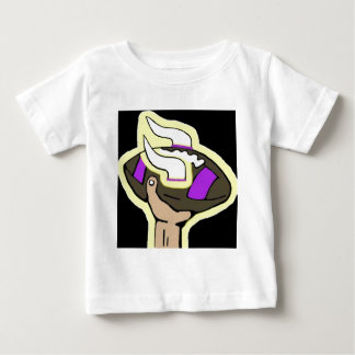 T-shirt Pour Bébé le football de Vikings