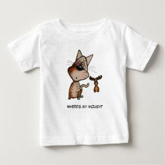 T-shirt Pour Bébé Le jouet faux de chat