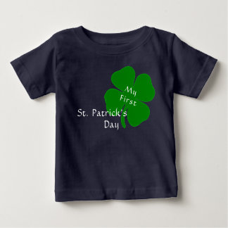 T-shirt Pour Bébé Le jour de mon ęr St Patrick
