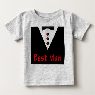 T-shirt Pour Bébé Le meilleur homme dans Tux