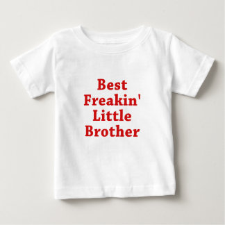 T-shirt Pour Bébé Le meilleur petit frère de Freakin