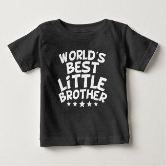 T-shirt Pour Bébé Le meilleur petit frère du monde