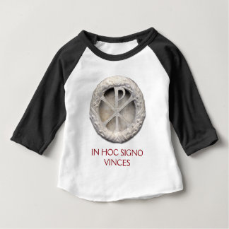 T-shirt Pour Bébé Le monogramme du Christ