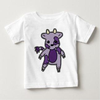 T-shirt Pour Bébé Le MOO pourpre