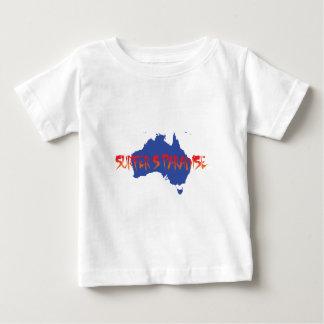 T-shirt Pour Bébé le paradis du surfer