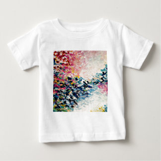T-shirt Pour Bébé Le PARADIS RÊVE la peinture abstraite colorée