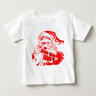 T-shirt Pour Bébé Le père noël