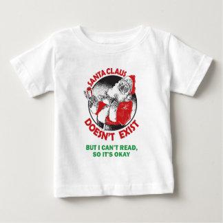 T-shirt Pour Bébé Le père noël drôle badine la chemise