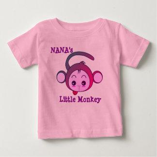 T-shirt Pour Bébé Le petit singe de Nana