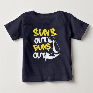 T-shirt Pour Bébé Le SOLEIL LANCE la pièce en t de RÉSERVOIR