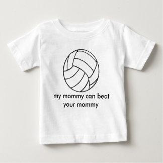 T-shirt Pour Bébé le volleyball_clipart_ball [1], ma maman peut