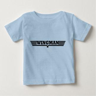 T-shirt Pour Bébé Le Wingman s'envole le logo