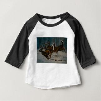 T-shirt Pour Bébé Les 3 cerfs communs