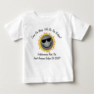 T-shirt Pour Bébé Les enfants font la chemise d'éclipse