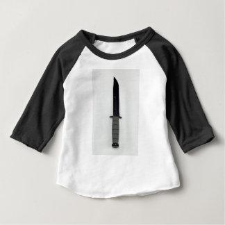 T-shirt Pour Bébé les militaires combattent le style vertical de