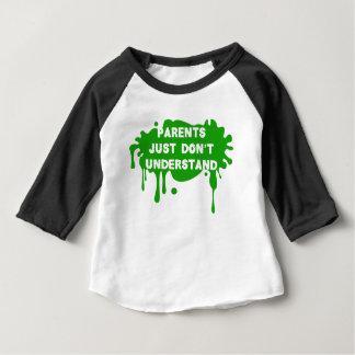 T-shirt Pour Bébé Les parents juste ne comprennent pas