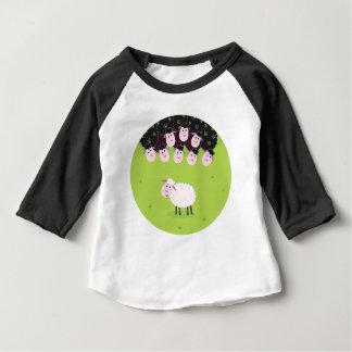 T-shirt Pour Bébé Les petits moutons mignons heureux