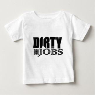 T-shirt Pour Bébé Les travaux sales