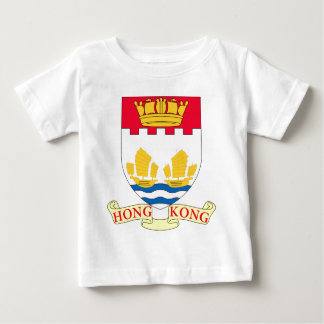 T-shirt Pour Bébé - Lesser_Coat_of_arms_of_Hong_Kong_ (1959-1997