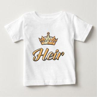T-shirt Pour Bébé L'HÉRITIER à aller avec la PIÈCE DE RECHANGE