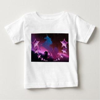 T-shirt Pour Bébé Licorne avec des étoiles