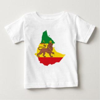 T-shirt Pour Bébé Ligne éthiopienne 👍😂😂👌 de P.R. de drapeaux