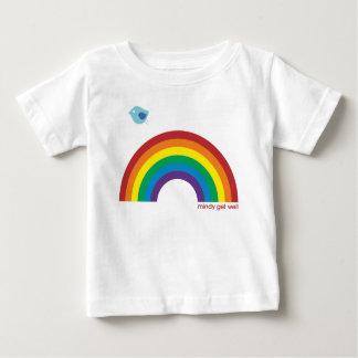 T-shirt Pour Bébé L'ODEUR DE RENFERMÉ badine l'oiseau d'arc-en-ciel