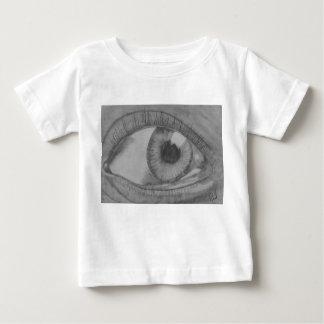 T-shirt Pour Bébé L'oeil vous voient