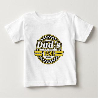 T-shirt Pour Bébé Logo de service du taxi du papa