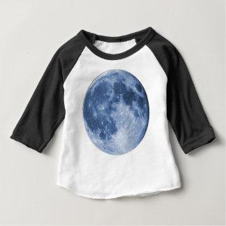 T-shirt Pour Bébé lune bleue