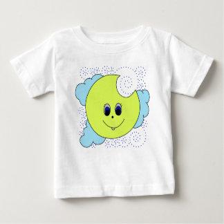 T-shirt Pour Bébé Lune lunatique