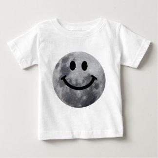 T-shirt Pour Bébé Lune souriante