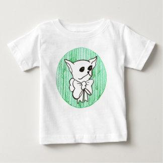 T-shirt Pour Bébé M. PiddlePoo le chiwawa, une vision en vert