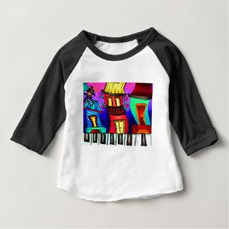 T-shirt Pour Bébé Maisons de quartier français sur la rue royale