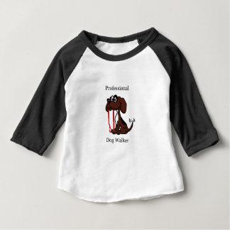 T-shirt Pour Bébé Marcheur professionnel de chien