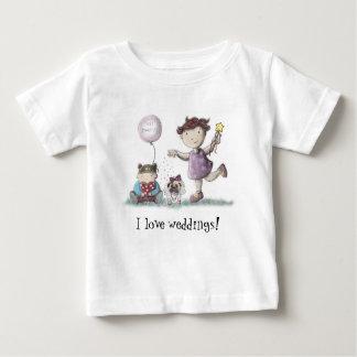 T-shirt Pour Bébé Mariage de petit gâteau de marguerite !