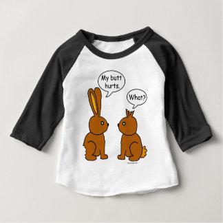 T-shirt Pour Bébé Mes maux de bout ! - Ce qui ?