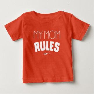 T-shirt Pour Bébé Mes règles de maman