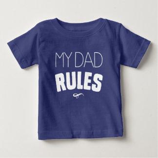 T-shirt Pour Bébé Mes règles de papa