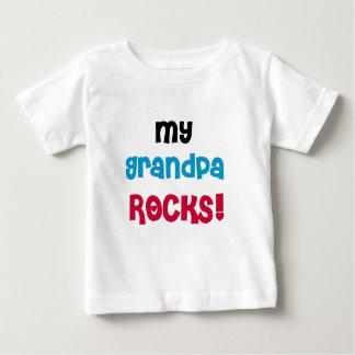 T-shirt Pour Bébé Mes roches de grand-papa