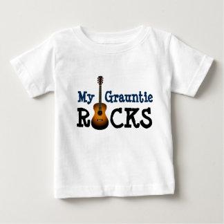 """T-shirt Pour Bébé """"Mes roches de Grauntie ! """""""