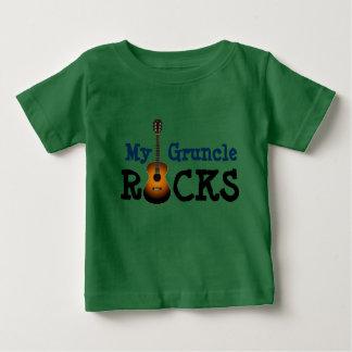 """T-shirt Pour Bébé """"Mes roches de Gruncle ! """""""