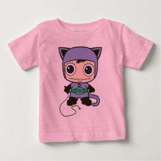 T-shirt Pour Bébé Mini femme de chat