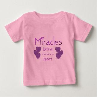 T-shirt Pour Bébé Miracles