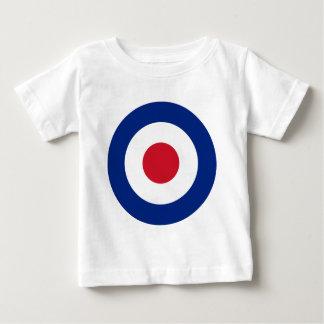 T-shirt Pour Bébé Mod - Rondeau classique - cible de tir à l'arc de