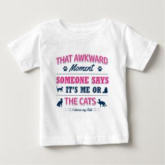 T-shirt Pour Bébé Moment maladroit de Pitbull